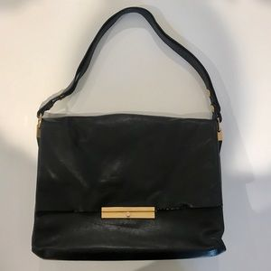 Celine Black Purse / Handbag Calfskin  Leather